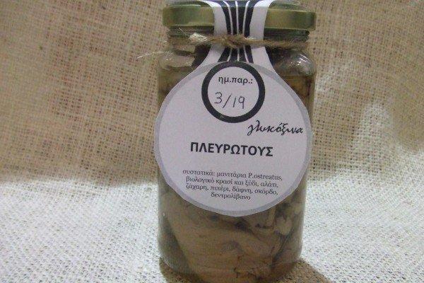 Μανιτάρια Πλευρώτους γλυκόξινα
